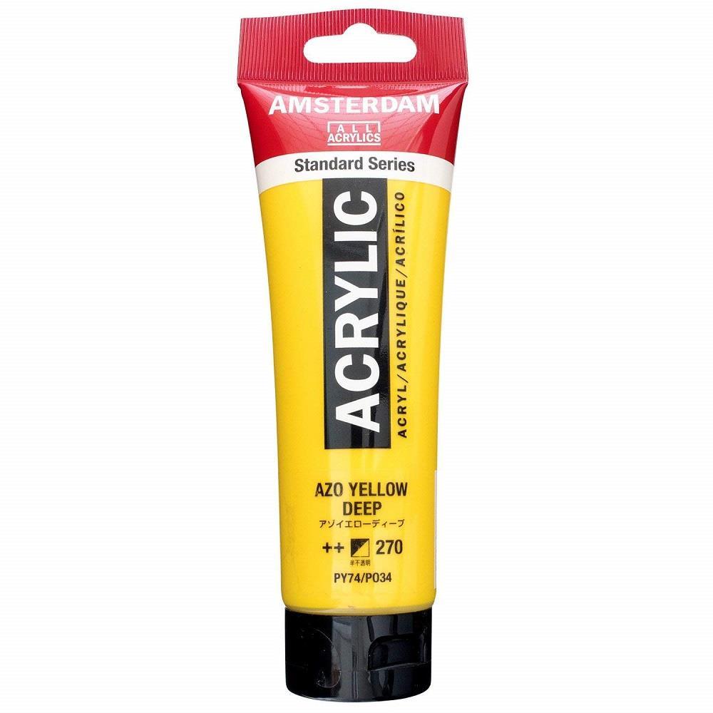 Ακρυλικό Amsterdam 120 ml 270 azo yellow deep