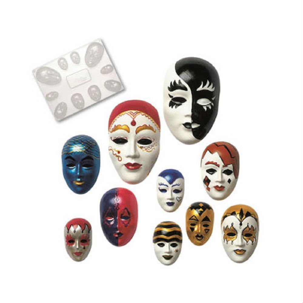 Καλούπι για μάσκες Glorex 62701910 10τεμ.