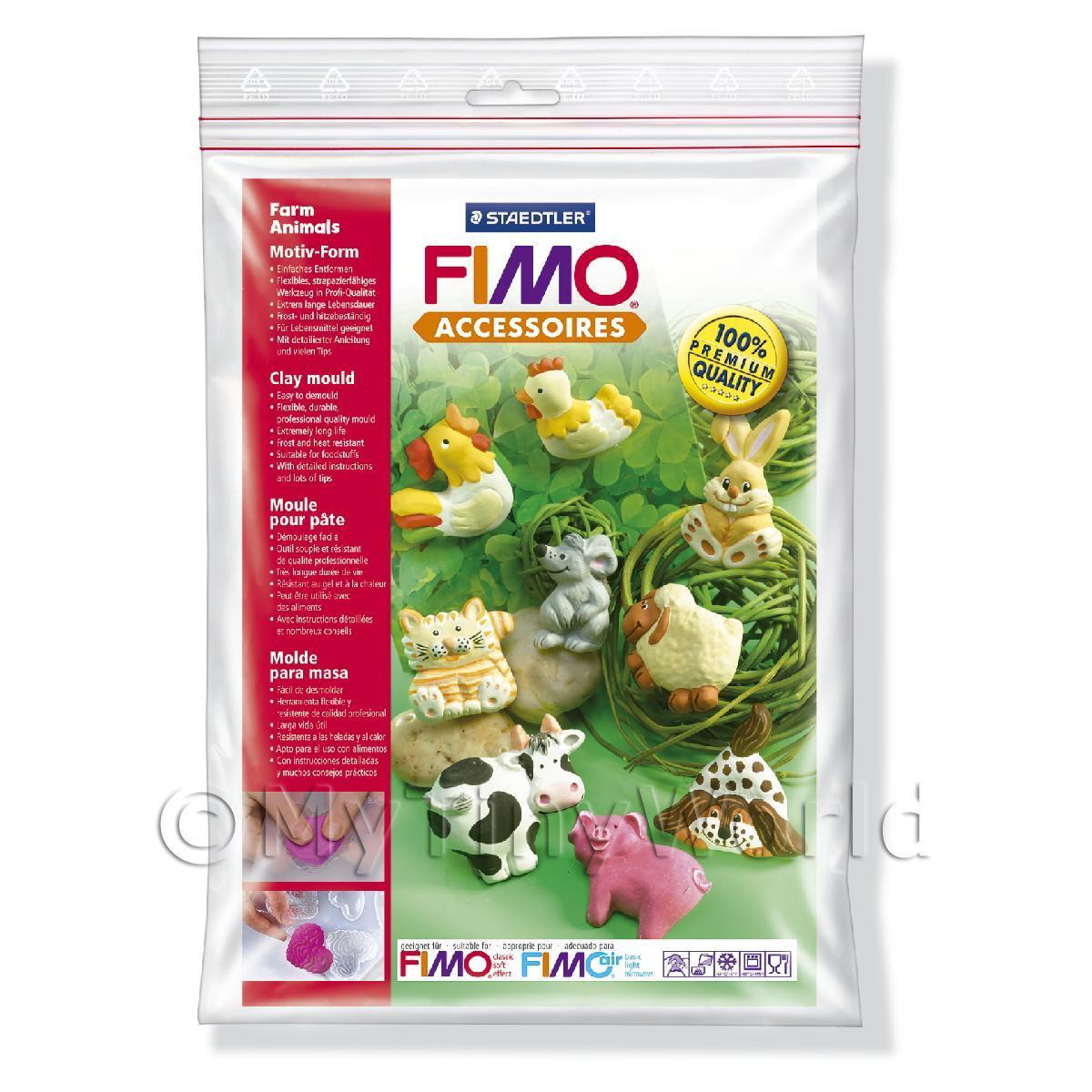 Καλούπι πηλού Fimo 8742-01 farm animals