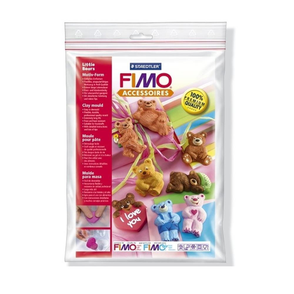 Καλούπι πηλού Fimo 8742-03 bears