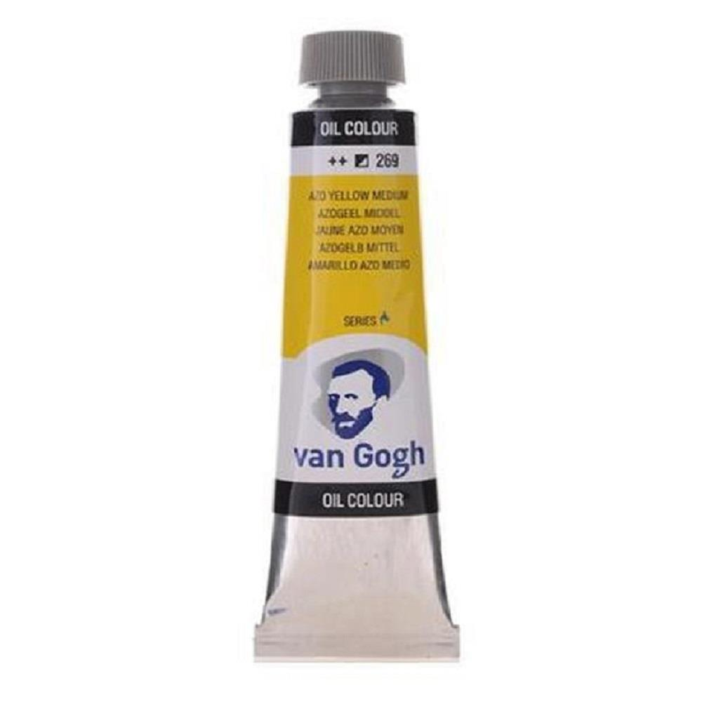 Λάδι Talens Van Gogh 20 ml 269 azo yellow medium