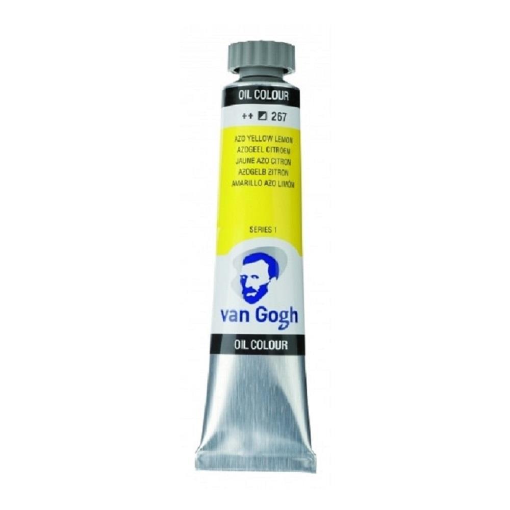 Λάδι Talens Van Gogh 20 ml 267 azo yellow lemon