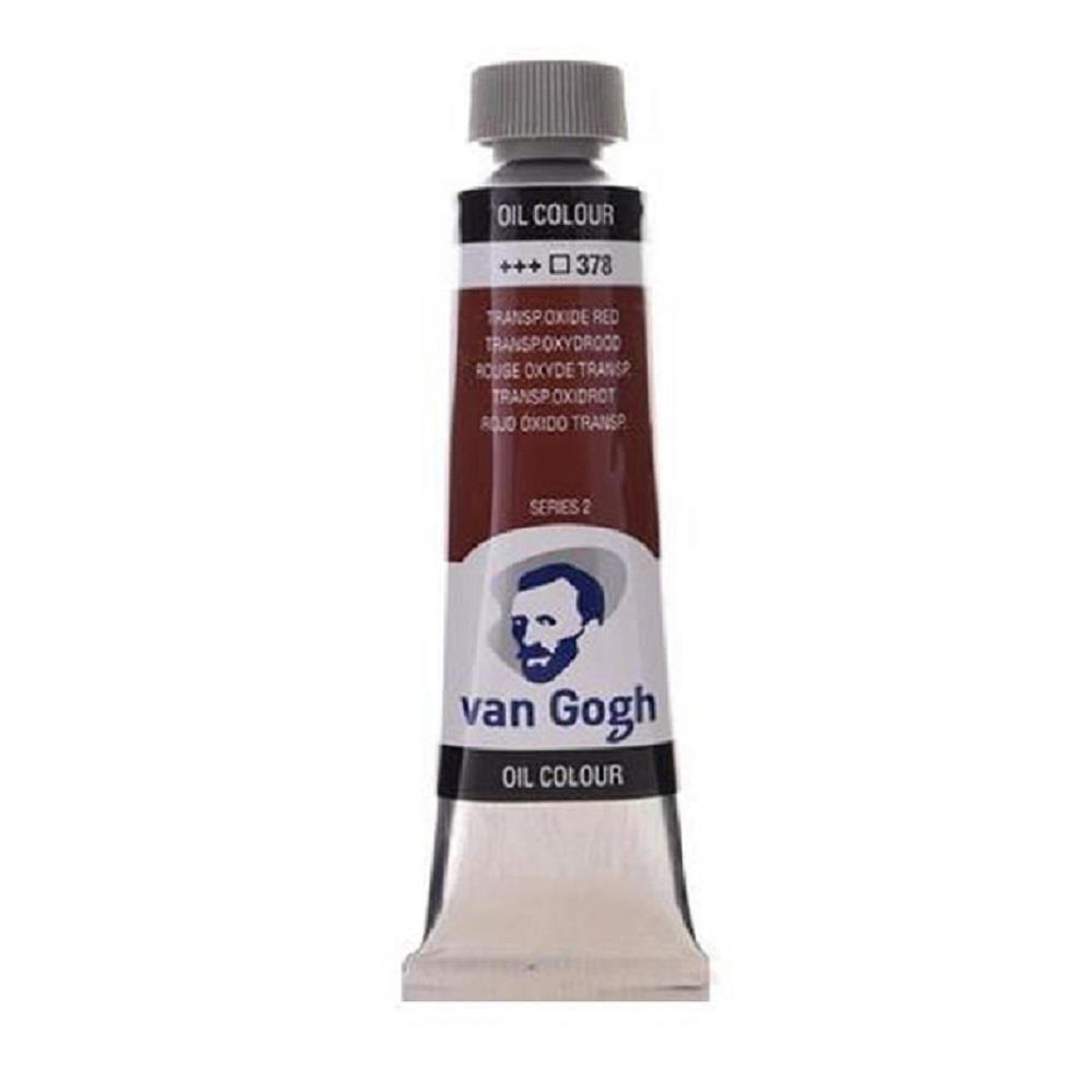 Λάδι Talens Van Gogh 20 ml 378 transp.oxide red