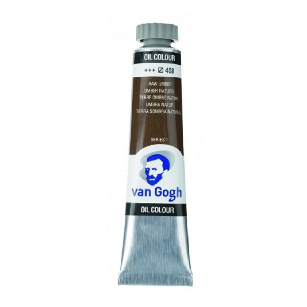 Λάδι Talens Van Gogh 20 ml 408 raw umber