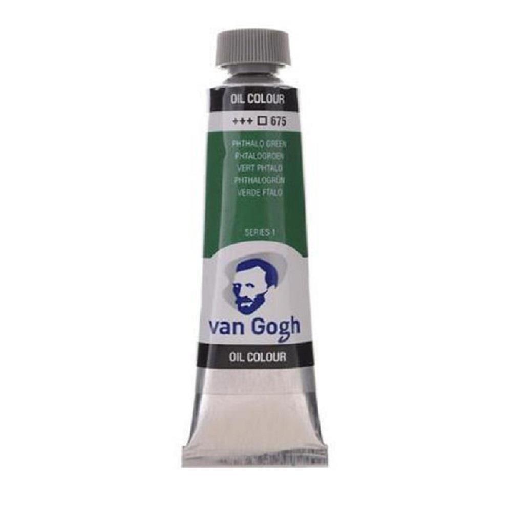 Λάδι Talens Van Gogh 20 ml 675 phthalo green