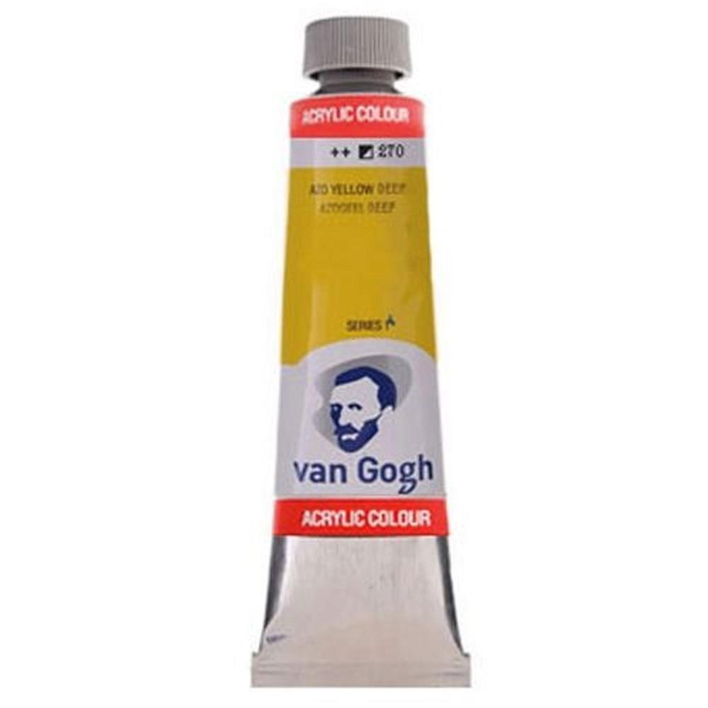 Ακρυλικό Talens Van Gogh 40 ml 270 azo yellow deep