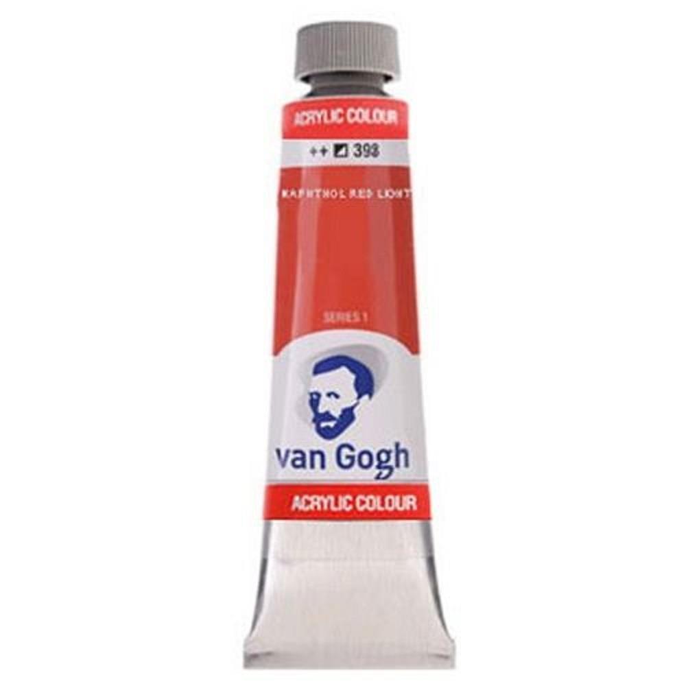Ακρυλικό Talens Van Gogh 40 ml 398 naphthol red light