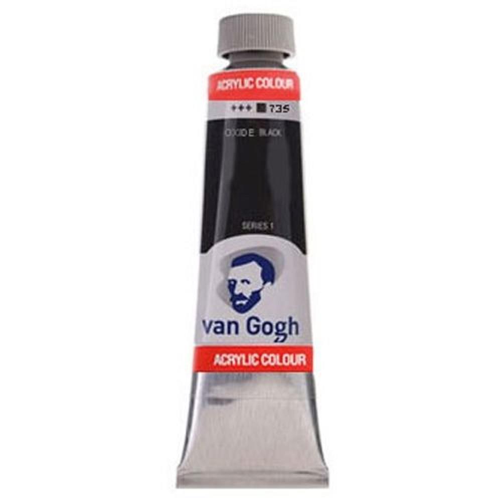 Ακρυλικό Talens Van Gogh 40 ml 735 oxide black