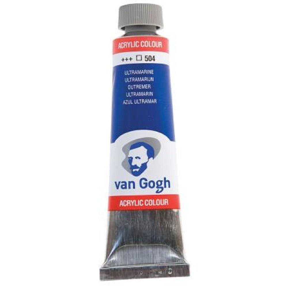 Ακρυλικό Talens Van Gogh 40 ml 504 ultramarine