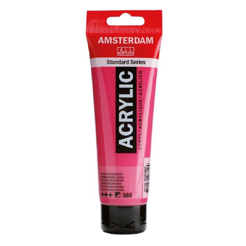 Ακρυλικό Amsterdam 120 ml 366 quinacridone rose