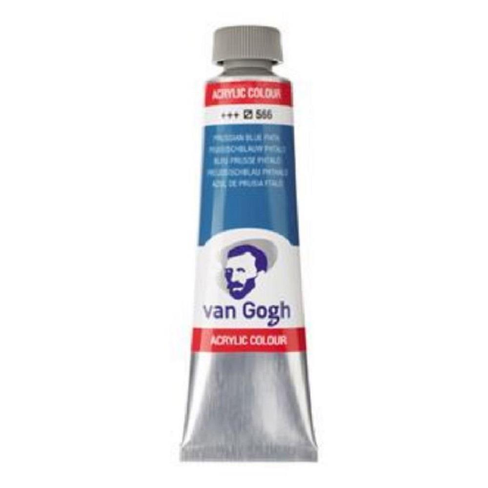 Ακρυλικό Talens Van Gogh 40 ml 566 prussian blue (phthalo)