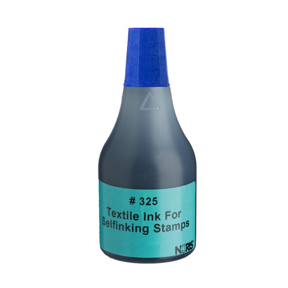 Μελάνι Noris 325 για ύφασμα μπλε 50 ml