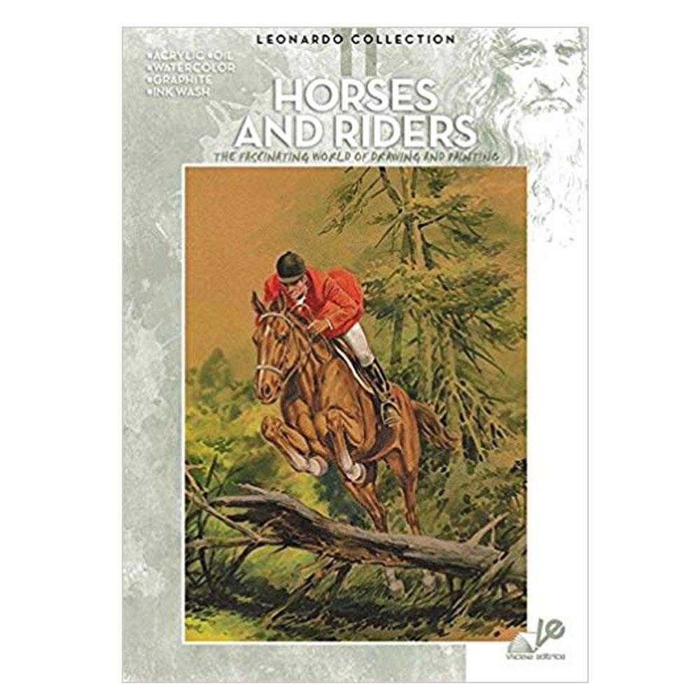 Βιβλίο ζωγραφικής Leonardo 11 horses and riders