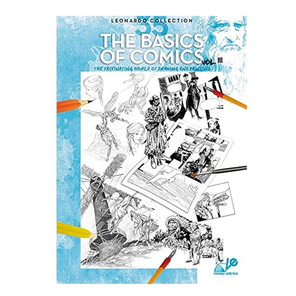 Βιβλίο ζωγραφικής Leonardo 35 the basic of comics vol.3
