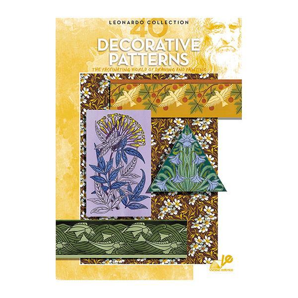 Βιβλίο ζωγραφικής Leonardo 40 decorative patterns