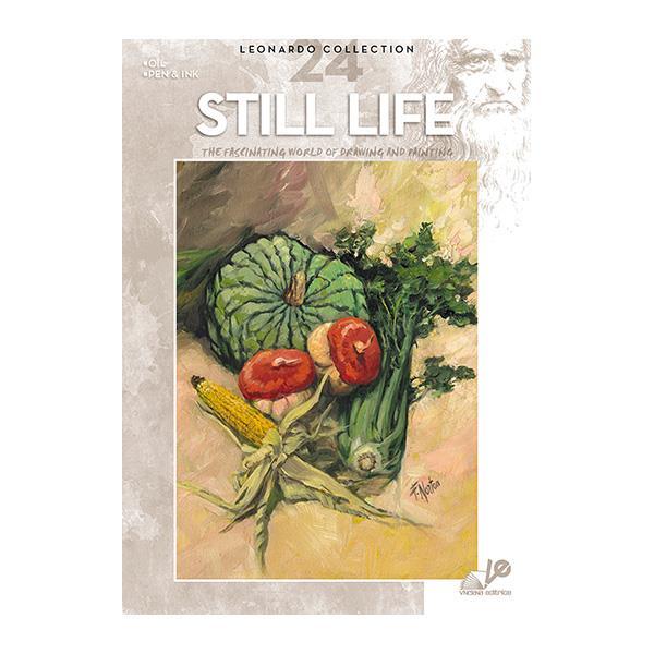 Βιβλίο ζωγραφικής Leonardo 24 still life