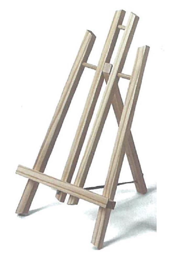 Καβαλέτο τρίποδο μίνι 30 cm ξύλινο