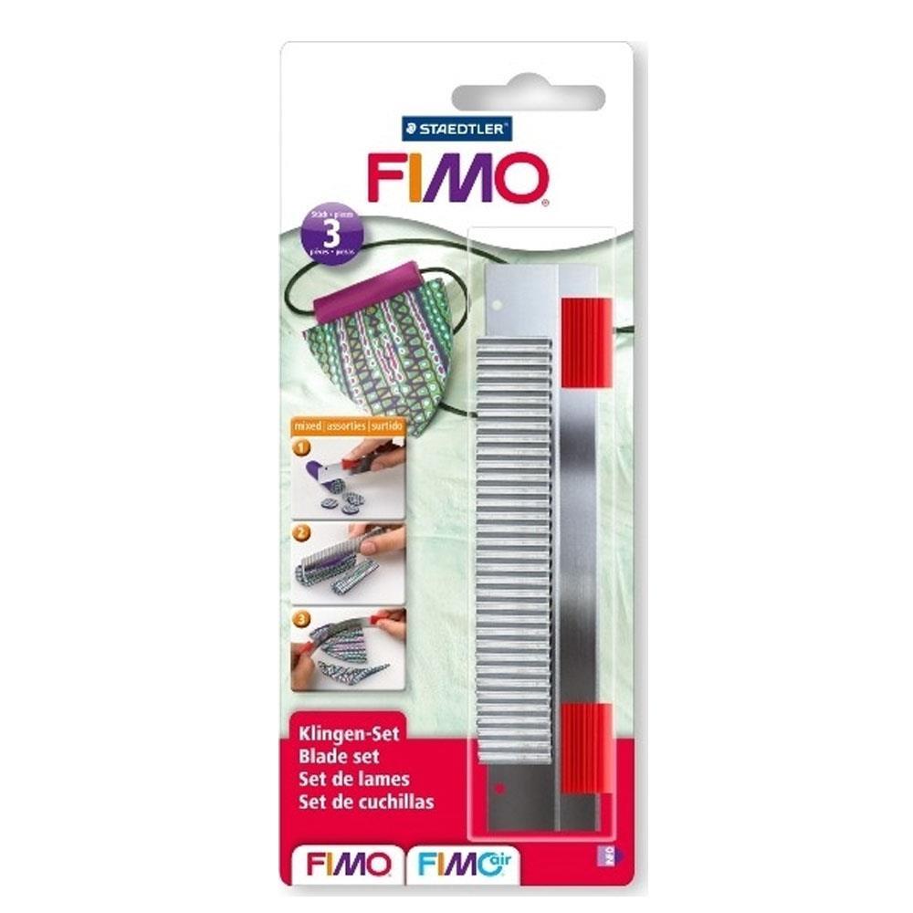 Λεπίδες Fimo 870004 σετ 3 τεμάχια