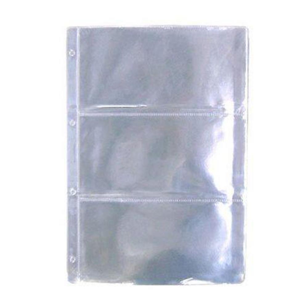 Ζελατίνη Α4 χαρτονομισμάτων 3 θέσεων