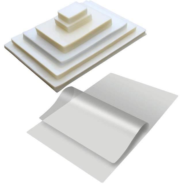 Δίφυλλα πλαστικοποίησης 55x85 125mic 100τεμ