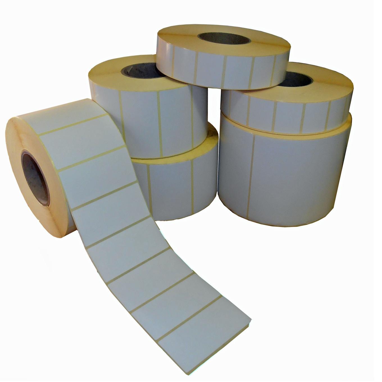 Ετικέτες 60x40 αυτοκόλλητες θερμικές 700/ρολλό ζυγαριάς