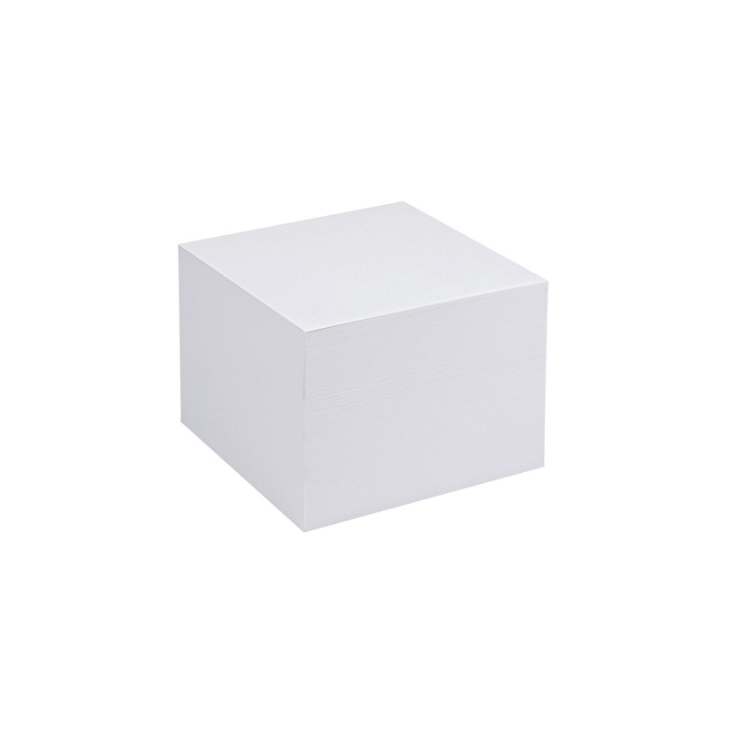 Χαρτιά κύβου Typofix 9x9 cm λευκά