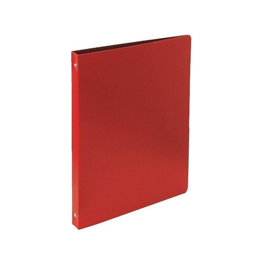 Ντοσιέ πλαστικό Α4 4 κρίκων κόκκινο