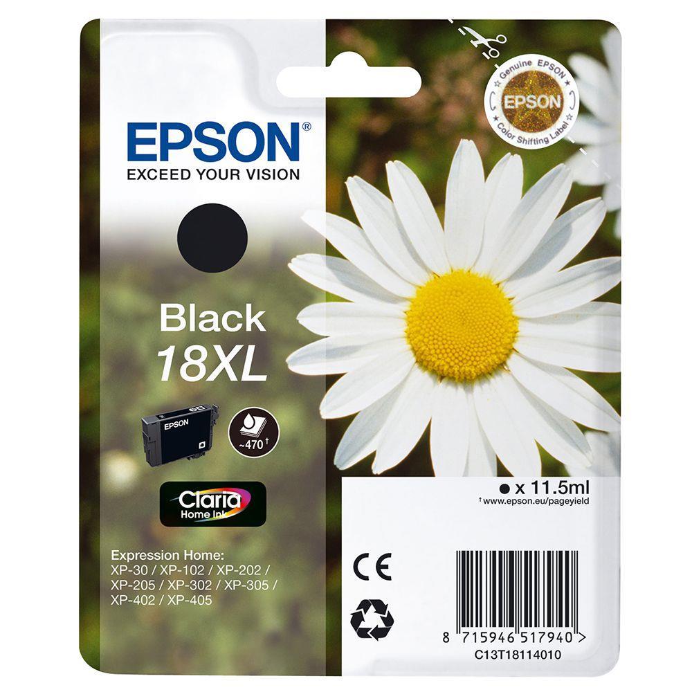 Μελάνι Epson 18 XL black