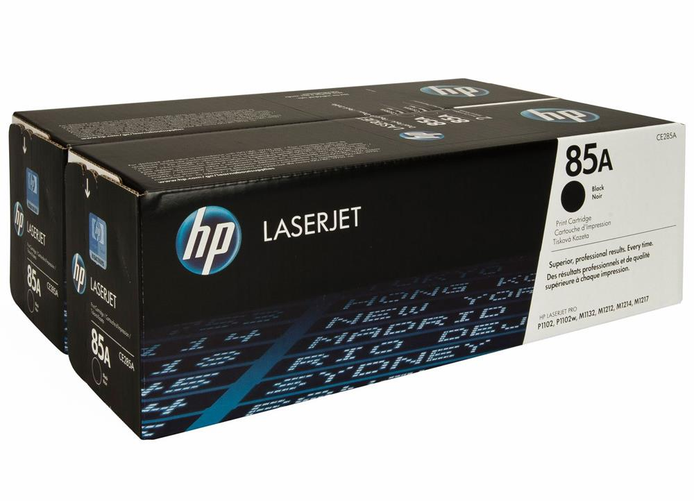Toner Hp 285A dual pack black