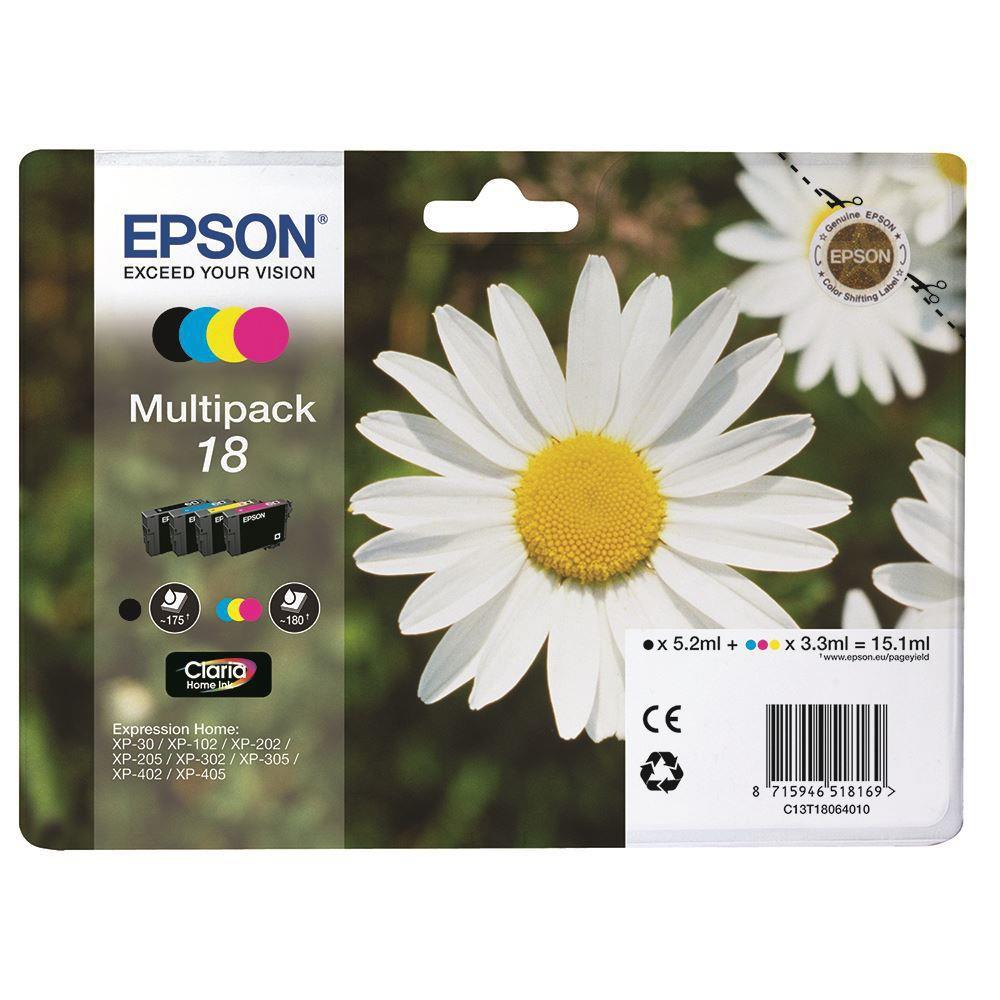 Μελάνια Epson 18 multipack