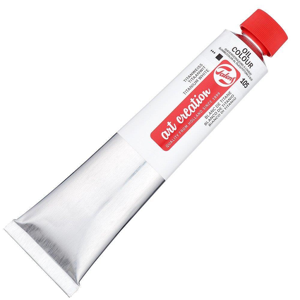 Λάδι Art creation 200 ml  λευκό 105 white