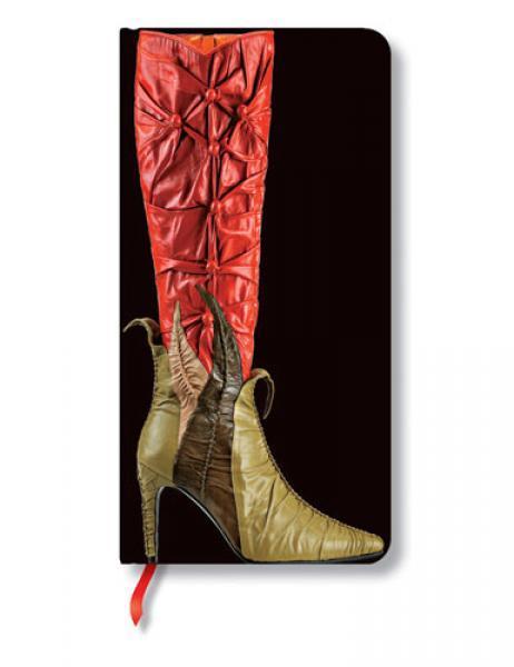 Σημειωματάριο PaperBlanks slim footwear