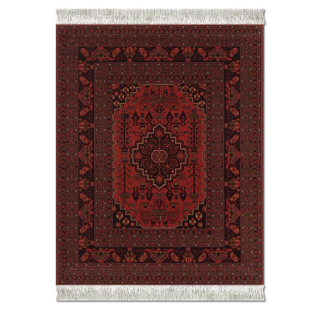 Mousepad Rug Antique-Red-Afghan SRA-SE