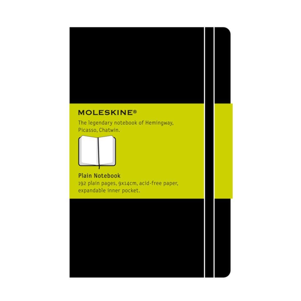 Σημειωματάριο 9x14cm Moleskine black 98φ sketchbook