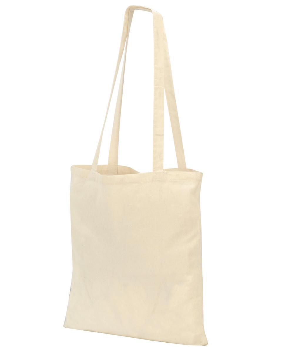 Τσάντα πάνινη βαμβακερή μακριά χερούλια