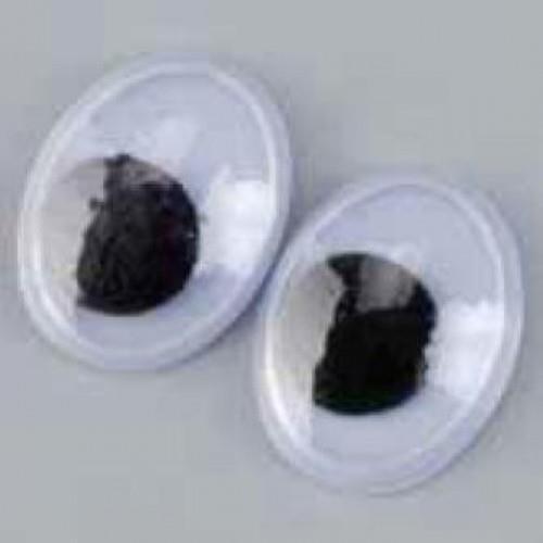 Ματάκια Efco οβάλ 10mm 10τεμ