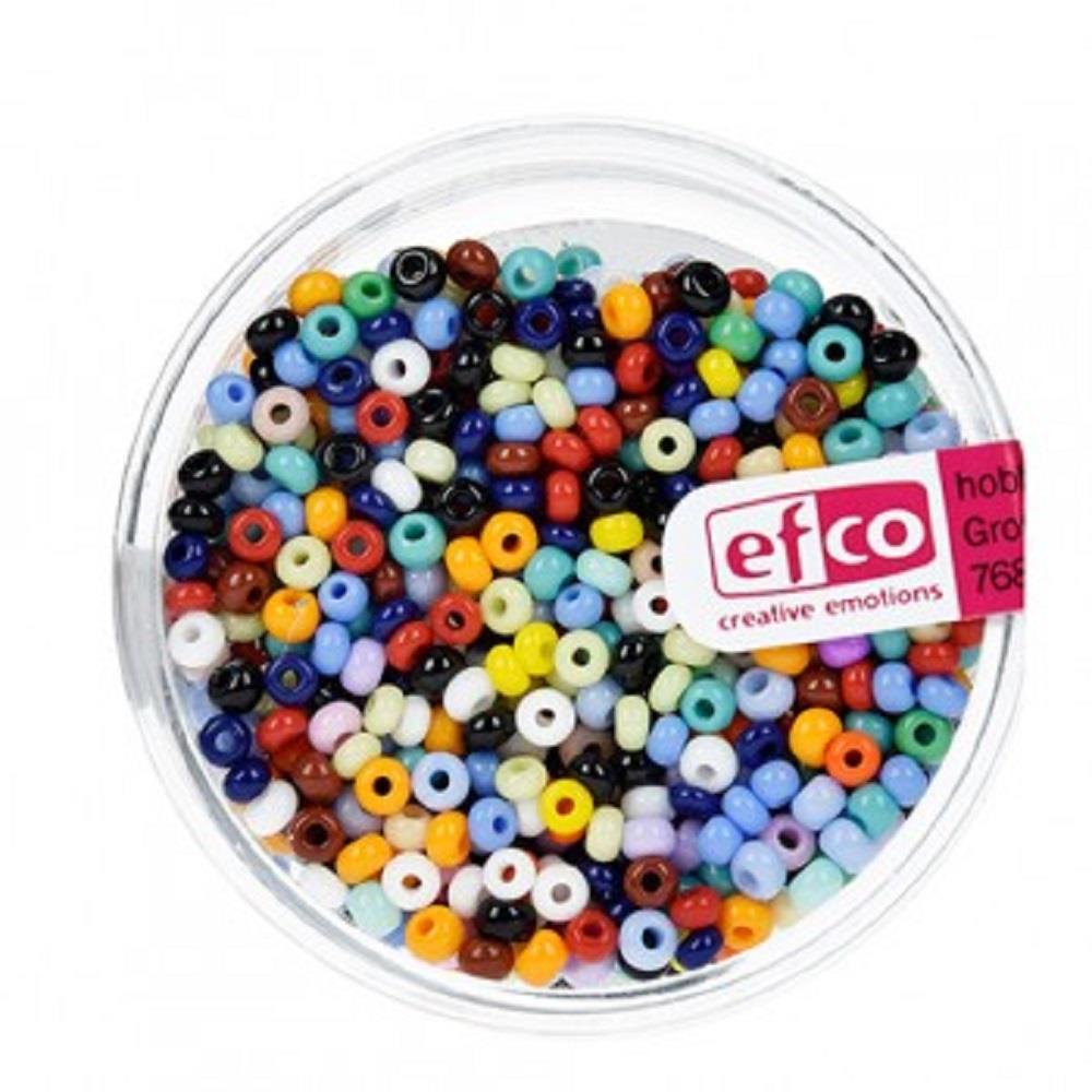 Χάντρες Efco 3,5 mm 17gr χρωματιστές