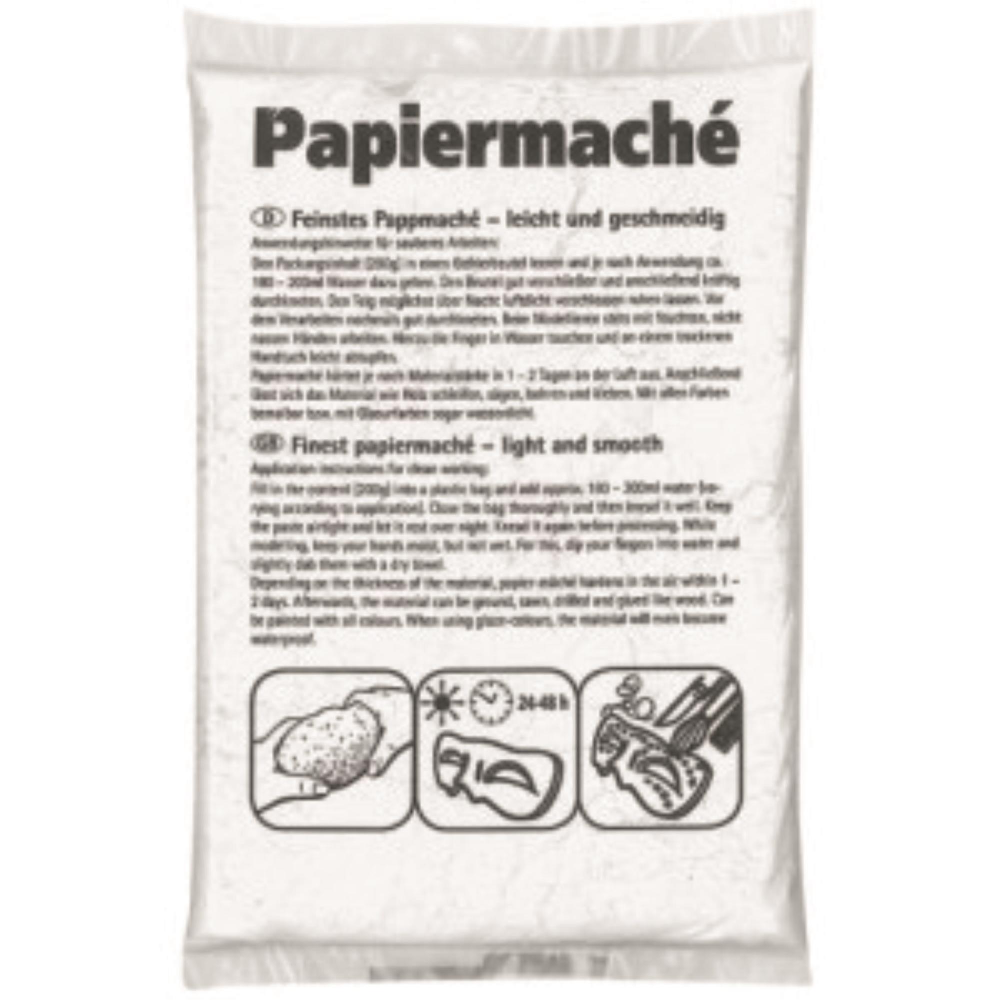 Χαρτοπολτός papier mache Efco 200 gr