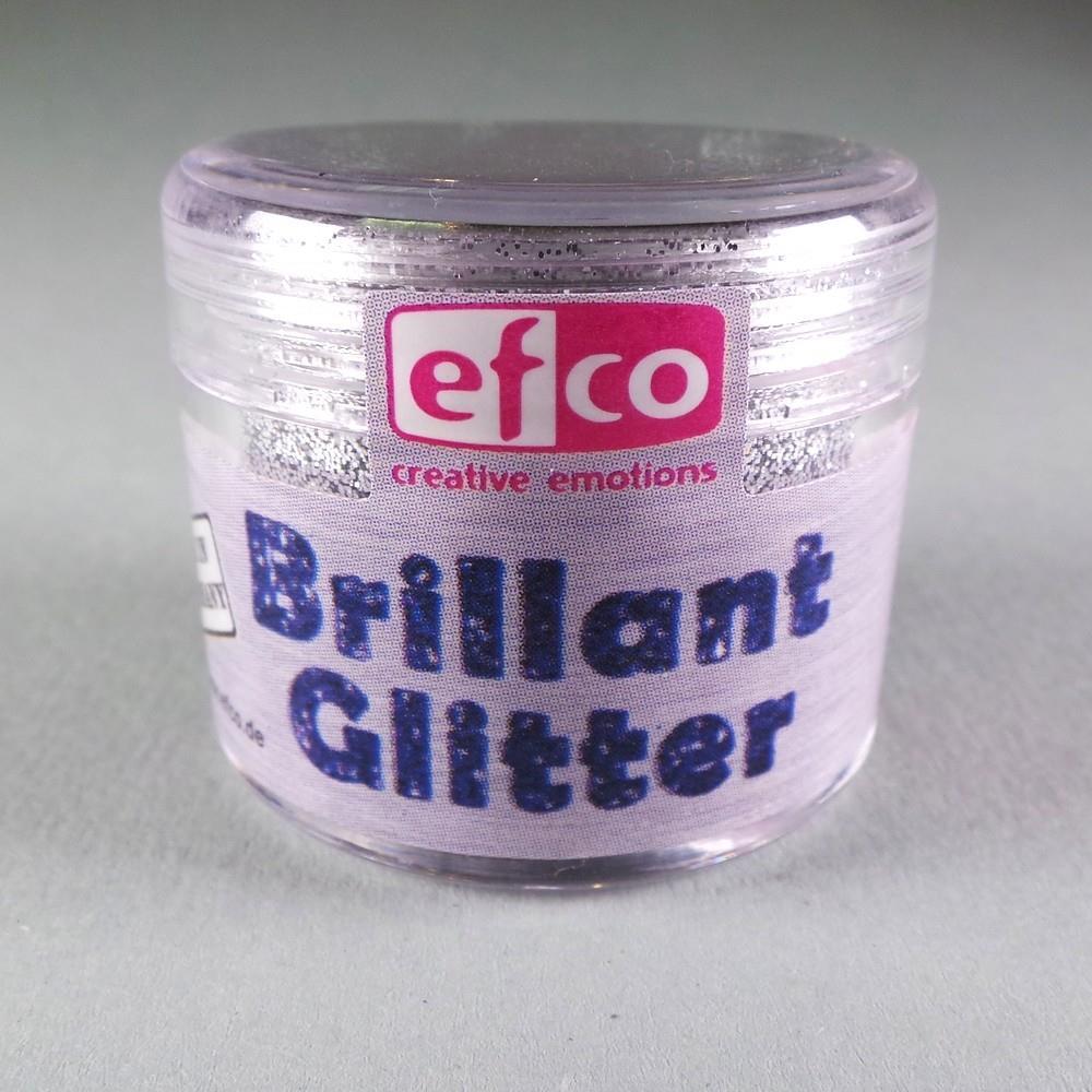 Χρυσόσκονη glitter brillant Efco 12 gr ασημί