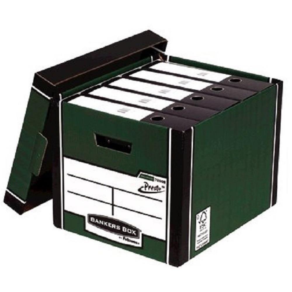 Κουτί αποθήκευσης Fellowes πράσινο 7260801 Tall Box