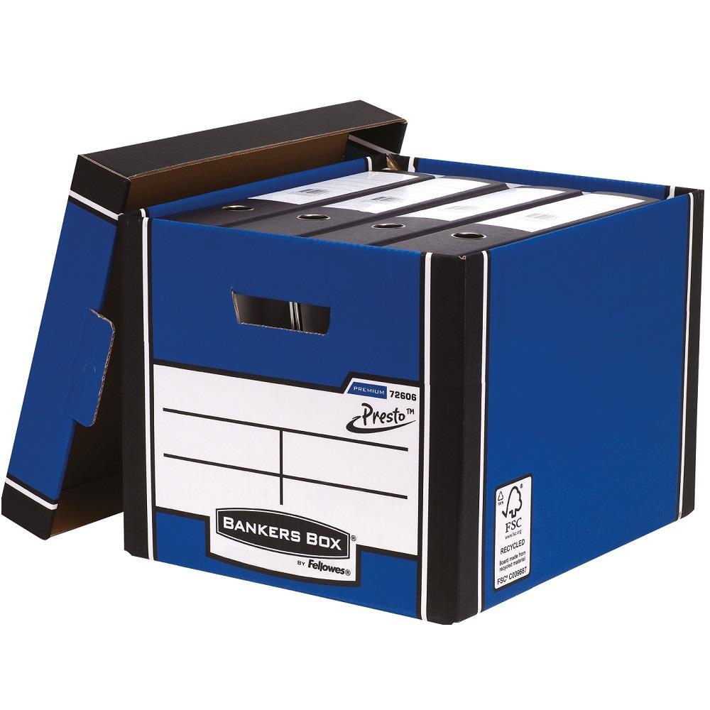 Κουτί αποθήκευσης Fellowes μπλε 7260601 Tall Box