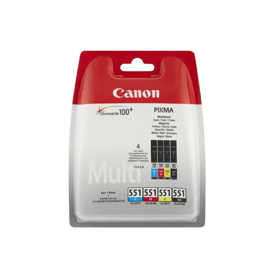 Μελάνια Canon 551 multipack