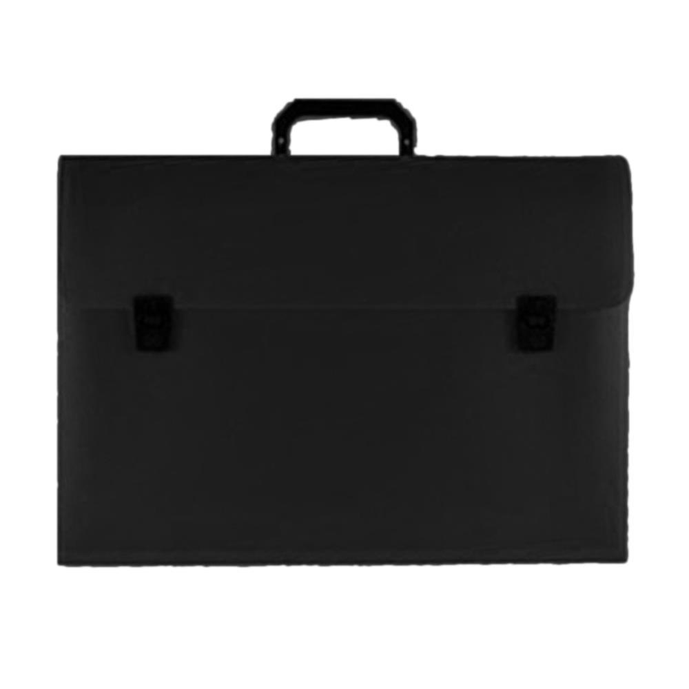 Τσάντα σχεδίου 30x40x5 μαύρη