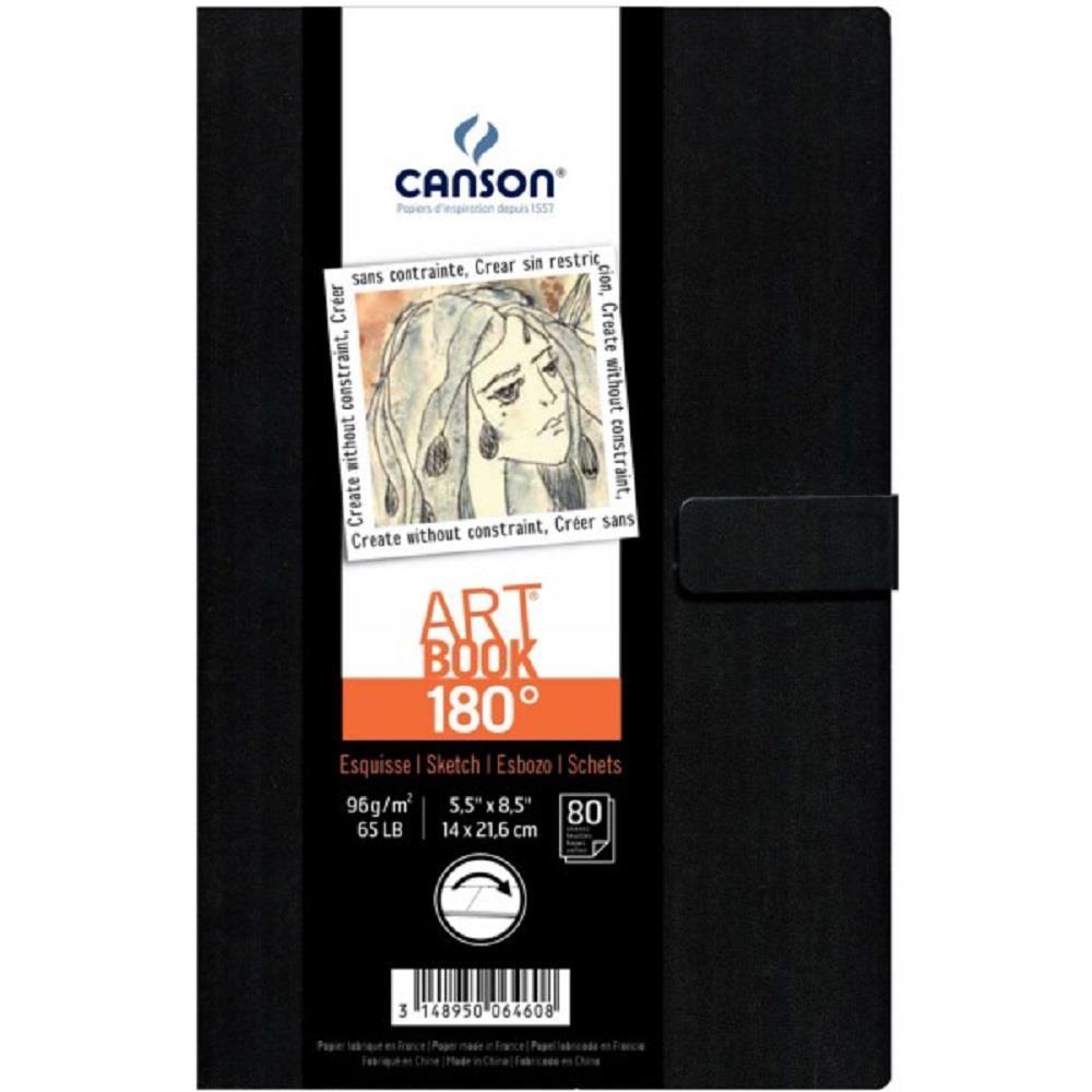 Σημειωματάριο 14x21cm Canson 80φ sketchbook