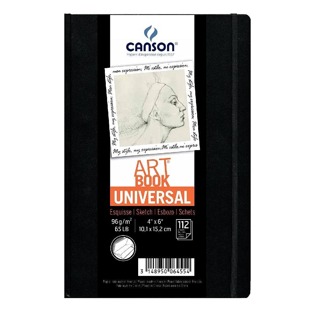 Σημειωματάριο 10x15cm Canson 112φ sketchbook
