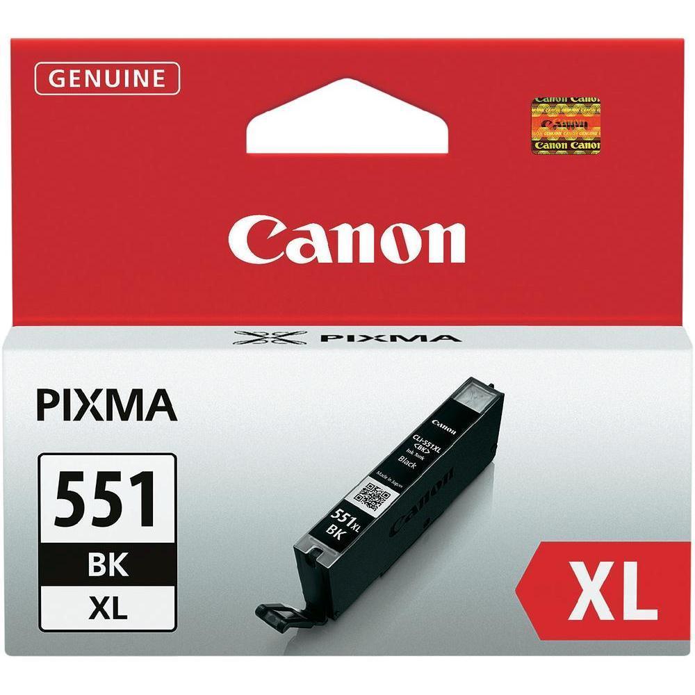 Μελάνι Canon 551XL black