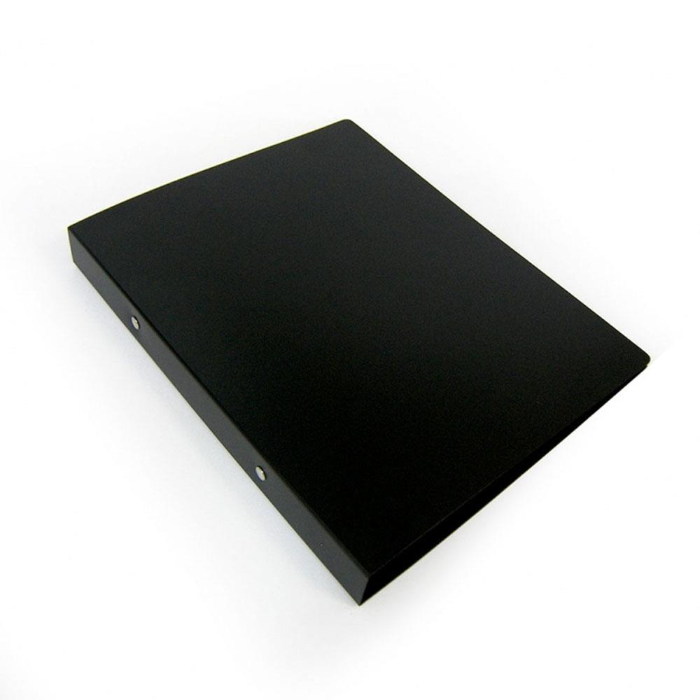 Ντοσιέ Skag πλαστικό 17x25 2 κρίκων μαύρο