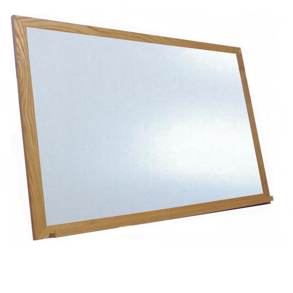 Πίνακας λευκός 40x60 cm μαγνητικός ξύλινος
