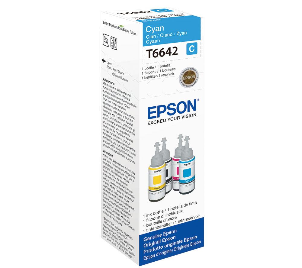 Μελάνι Epson Bottle T6642 cyan
