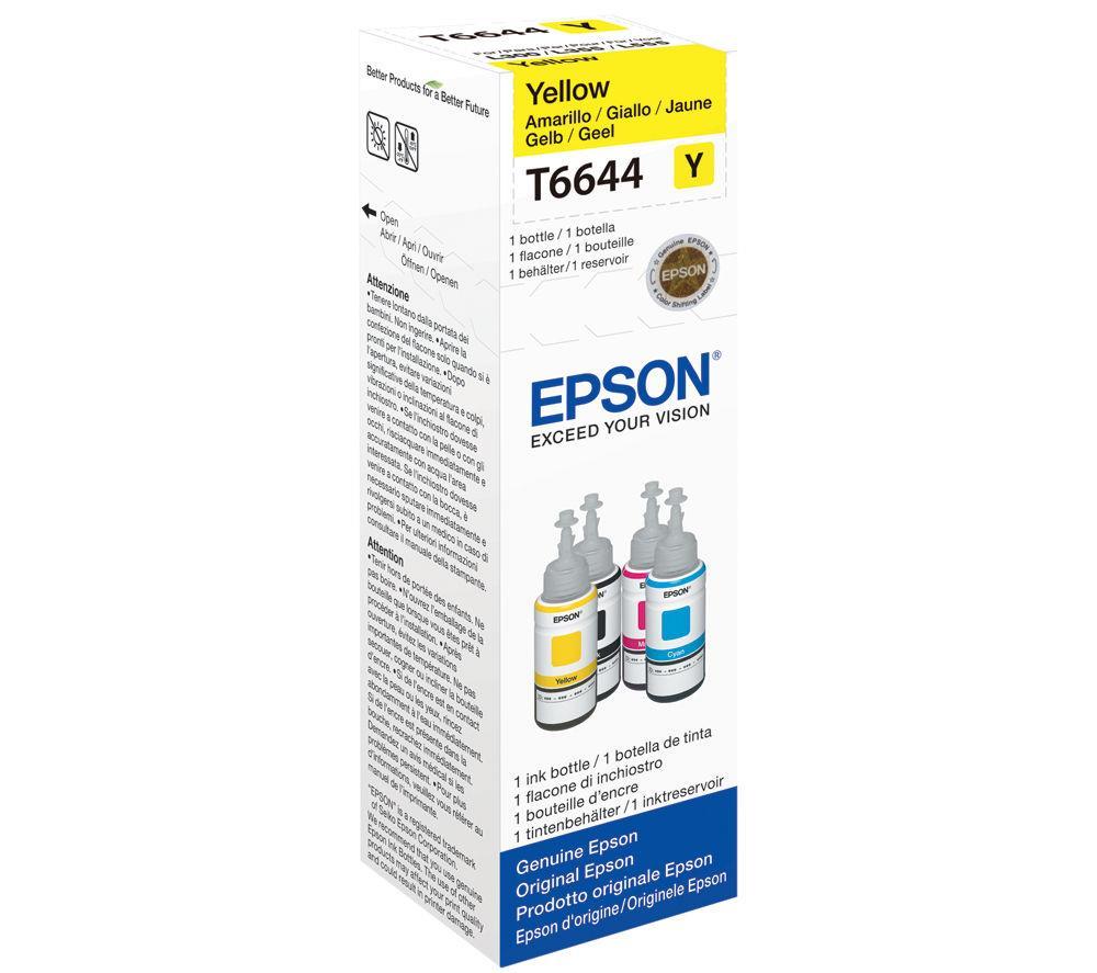 Μελάνι Epson Bottle T6644 yellow